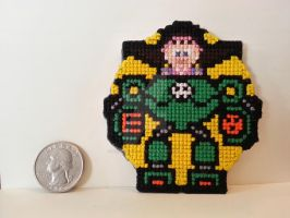 Mega Man - UMvC3 - Tron Bonne by NerdyCatCrafts