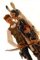 Fran and Balthier look by Ivycosplay