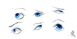 Eye practice by Lizandre