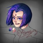 :Raven: WIP by Bunnairry