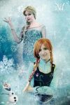 FROZEN by Moony-Cosplay