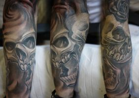 Another skulls by Tomyslav