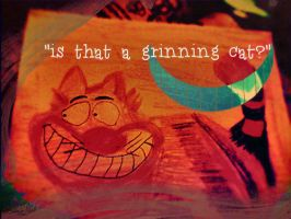 A cheshire cat... by shereadsinthedark