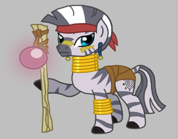 Zecora as The Guru by Death-Driver-5000