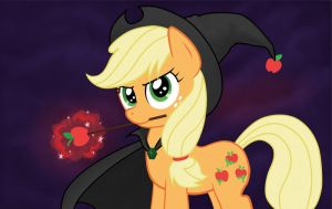 Apple Witch by OBCOR