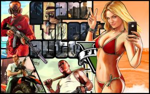Grand Theft Auto V Wallpaper by Crazeejezza