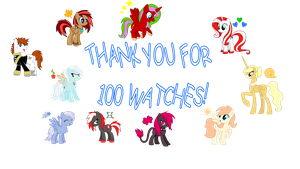 Thanks for 100 watches! by NortherntheStar