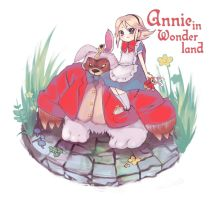 Annie in Wonderland by tunako