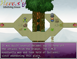 RMVX ACE Tree Tops City Tileset PREVIEW by DeadlyObsession