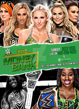 WWE Money In The Bank 2017 Poster by SidCena555