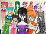 Alice in Wonderland: All the Girls! by emotionallysouless