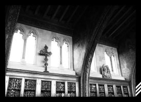 Hearst Castle - Library by Emn1ty