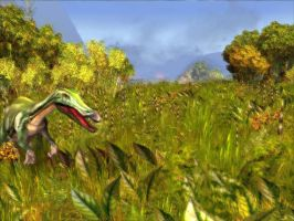 Baryonyx Close-up by KZ-KW