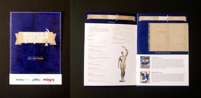 Bendigo Sports Star of the Year Awards Booklet by BRENDANakaSNOOPY