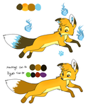 quick ref for Ash's summercoat by VengefulSpirits