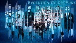 Evolution Of CM Punk ! by mikelshehata