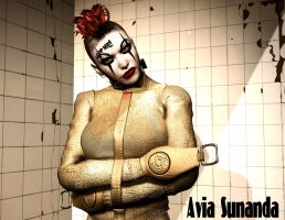 Insane in the mainbrain by Avia-Sunanda