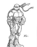 Raph Pencil by ShadowMaginis