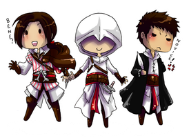 Cute Assassins by BlackMayo