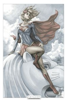 Supergirl STGCC 2015 by Artgerm