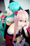 Miku and Luka Project Diva 2nd by KurotenshiDai