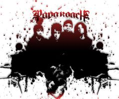 papa roach by inksus