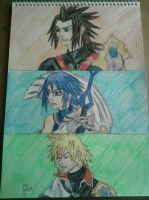 Kingdom Hearts Birth before sleep. by Laineyfantasy