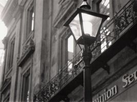 BCE Place: Lampost by Cyber-29