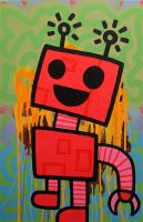 REDBOT by popartmonkey