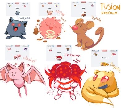 pokemon fusion by FlyingRotten