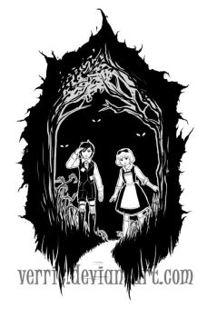 Hansel and Gretel by Verric
