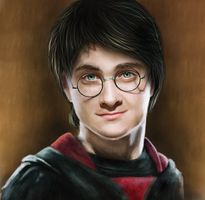 Harry Potter by AragornArathornion