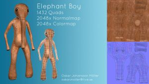Elephant Boy by FlyingApplesaucer