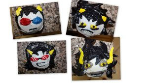 Homestuck cupcakes by missgnomeluvr