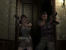 Resident Evil Remake by juniorbunny