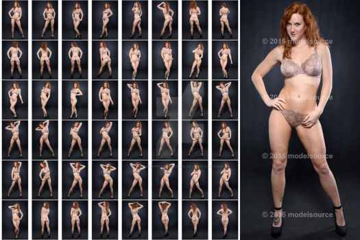 Stock: Amelia Lace Lingerie Poses - 48 Images by stockphotosource