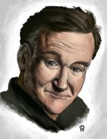 Robin Williams by LittleTeaGlass