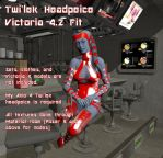 Twi'lek Headpeice fit for V4 by lucky2563