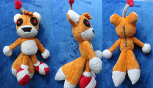 Tails Doll Plush by Cryptic-Enigma