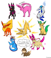 What Eeveelution should I be? by AkiraShepherd