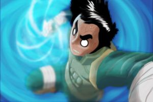 Rock Lee by FrankDurden
