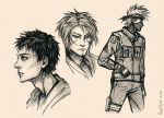 Naruto Sketches by Ring-T