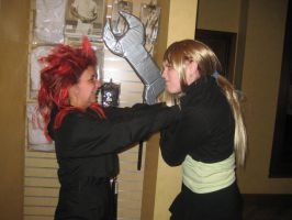 Axel vs. Winry by Moonpie1220