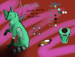 Amia Reference Sheet by Lacey186