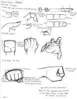 Quick Study HANDS by dwaynebiddixart