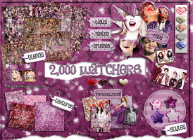 *~Megapack 2,000 watchers~* by IrresistibleStyles