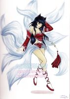 Ahri by AnAfterGlow