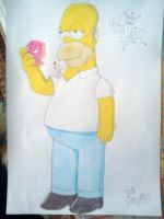 Homer Simpsons v1 by whozZy94
