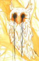 The Morning (Mourning) Owl by izenhime