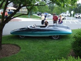 El Tiburon/Shark Roadster Side View by Aya-Wavedancer